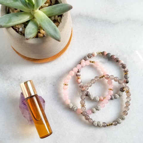 Love Set - Diffuser Mini Bracelets