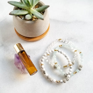 Intention Set - Diffuser Mini Bracelets