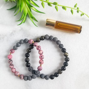 Better Together - Couples Diffuser Bracelet Duo