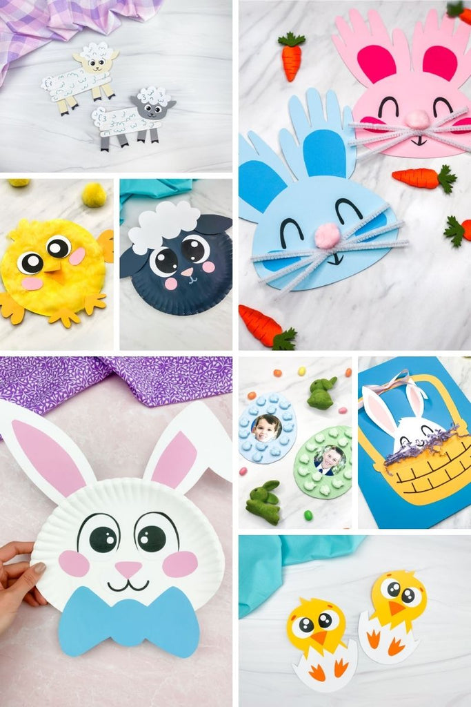 Easter Crafts + Templates