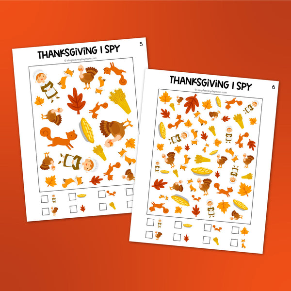 thanksgiving i spy printables