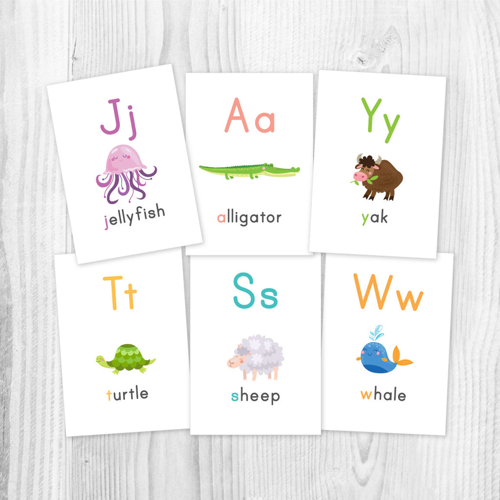 picture relating to Abc Printable Flashcards named ABC Flashcards