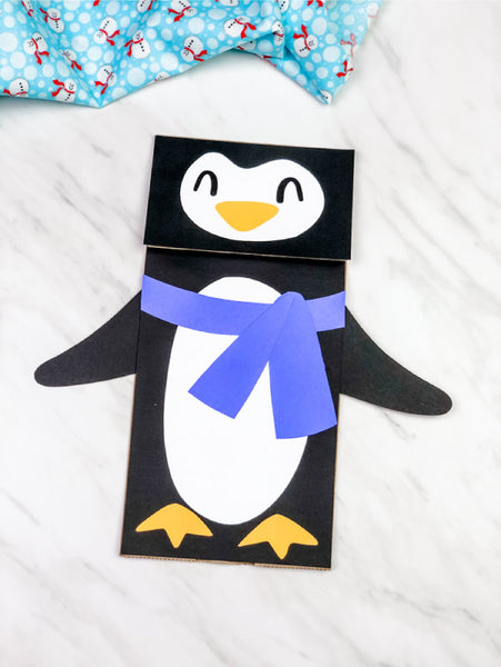 Paper Bag Puppet Crafts & Templates