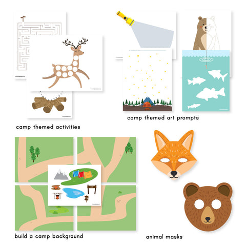 Camping Printable Activities