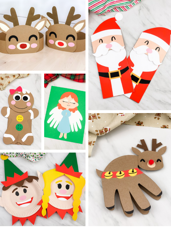 collection of christmas crafts for kids