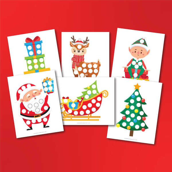 Christmas Do A Dot Printables