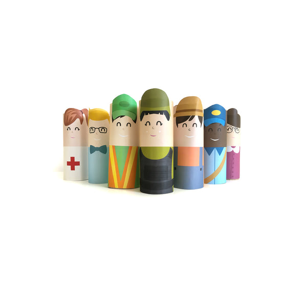 Community Helpers Craft Set #2