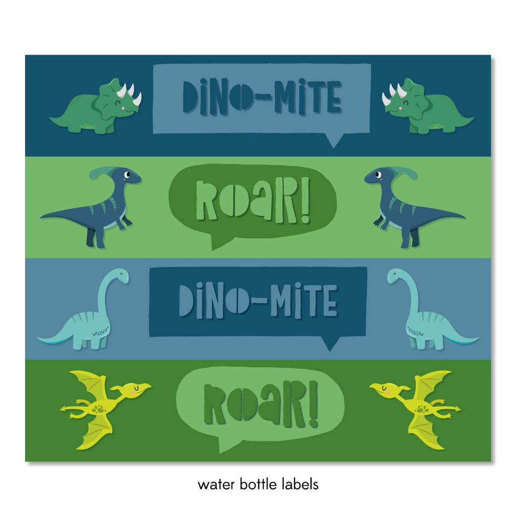 picture about Printable Dinosaur named Dinosaur Celebration Printable Pack