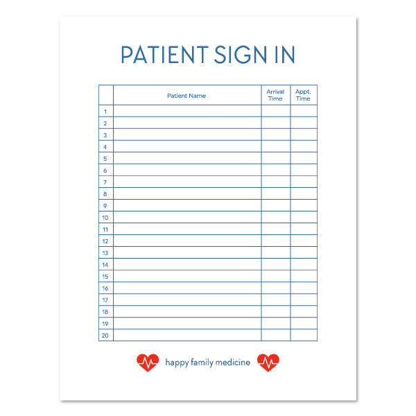 It's just a picture of Patient Sign in Sheets Printable with weekly medication count