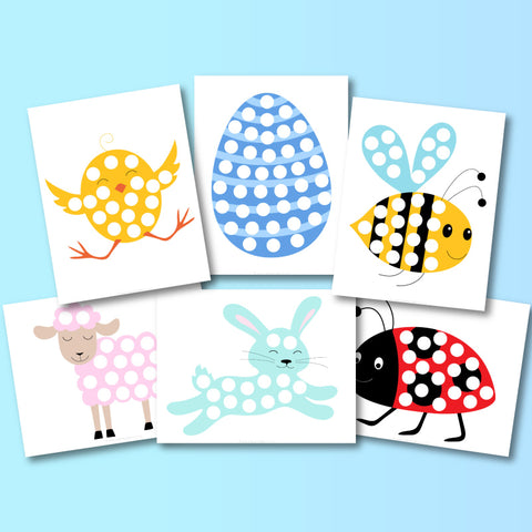Easter Do A Dot Printables