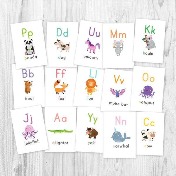 printable alphabet flashcards