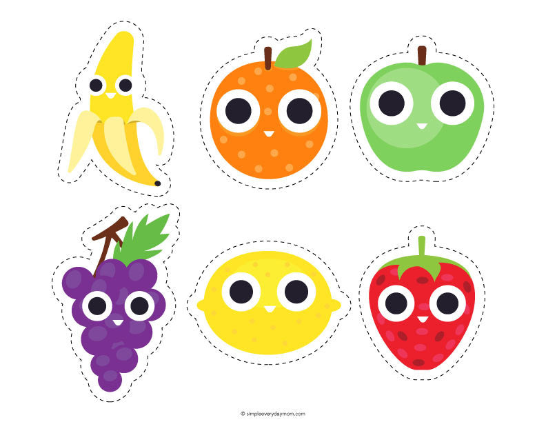 picture relating to Printable Fruit Pictures named Printable Fruit Functions For Preschoolers That Will Serene