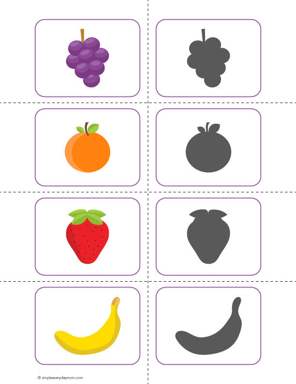 image relating to Printable Fruit Pictures called Printable Fruit Actions For Preschoolers That Will Serene