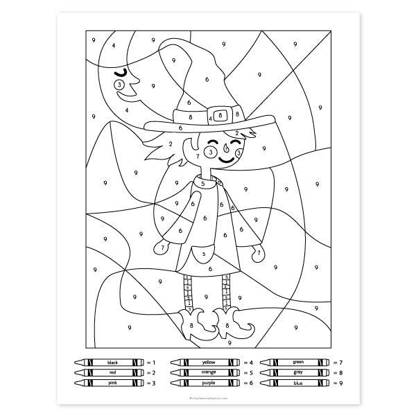 Use These Halloween Color By Number Printables For Creative Family further Halloween Coloring Pages as well Easy Halloween Color By Number   Coloring Page   CVDLIPIDS besides Color by Number   Pre   Halloween coloring  Halloween also  in addition  moreover  besides Halloween Coloring Pages further Halloween Color by Number   Toting   Toddler  Pre additionally  besides Your students will practicing addition and subtraction facts furthermore Color by number coloring pages likewise  also Early Childhood Color By Number Worksheets Color By Number Gorilla in addition  furthermore . on halloween color by number worksheets