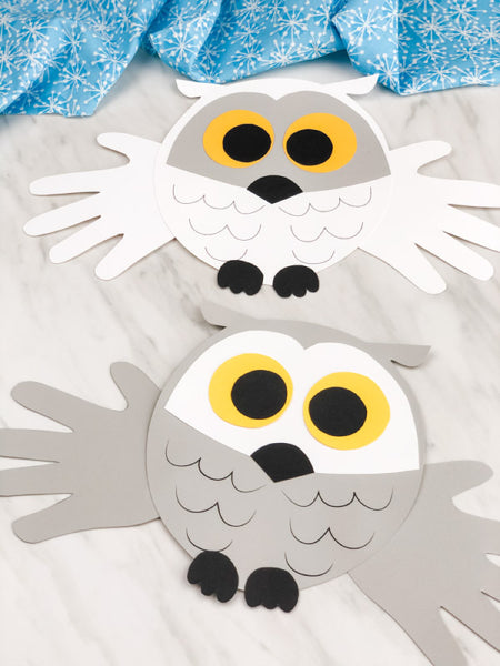 Handprint Animal Crafts & Templates