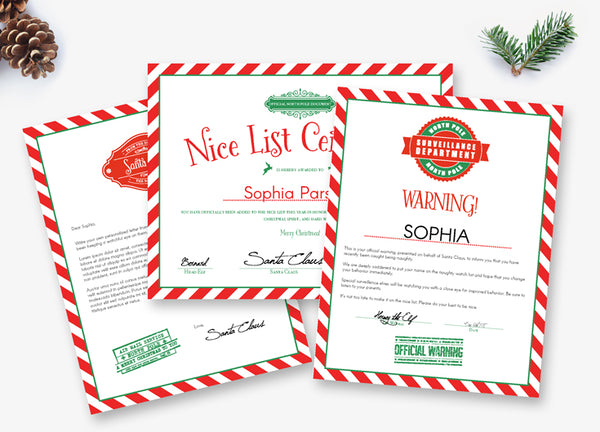 editable letters from santa