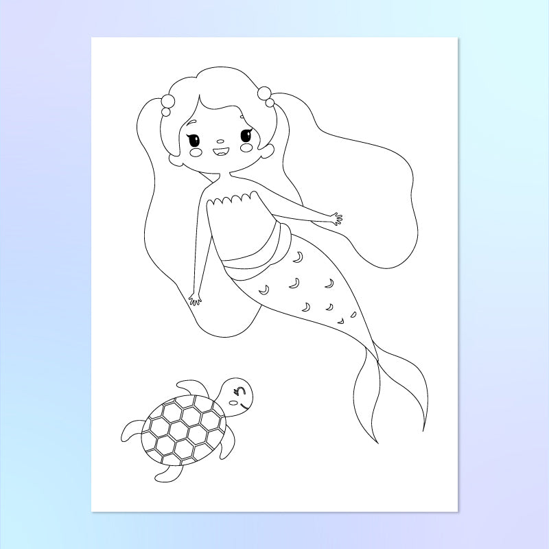 - Mermaid Coloring Pages For Kids – Simple Everyday Mom