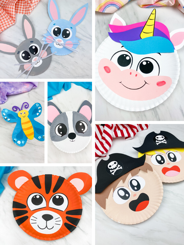 Paper Plate Crafts & Templates