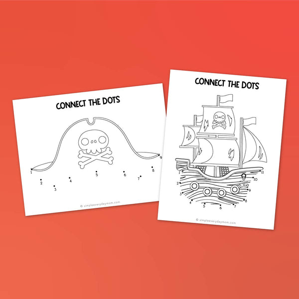 Pirate Worksheets For Kids