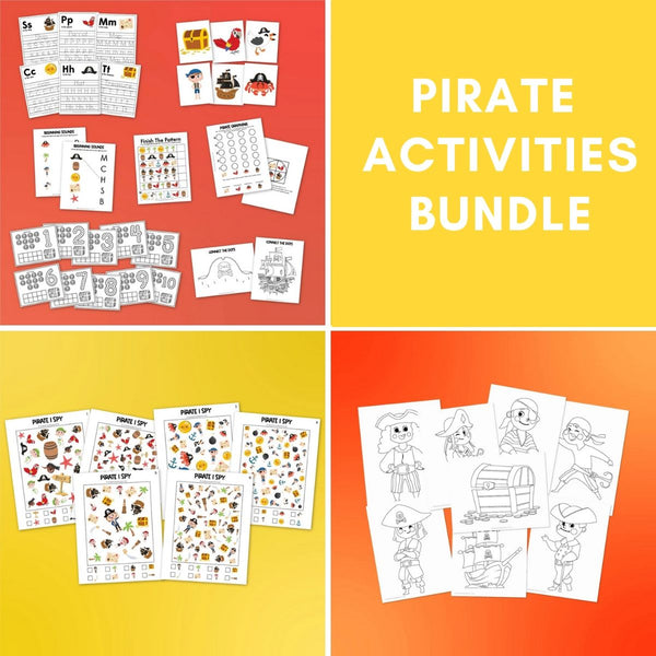 Pirate Activities Bundle
