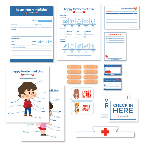 Pretend Play Doctors Office Printables