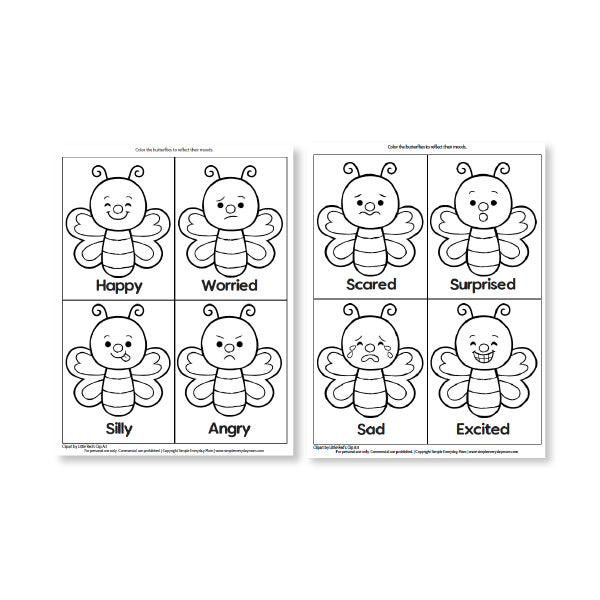 insect printables
