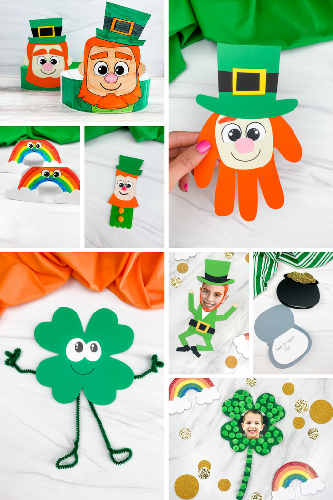 St. Patrick's Day Crafts + Templates