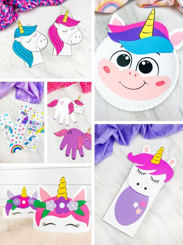 Unicorn Craft & Activity Bundle