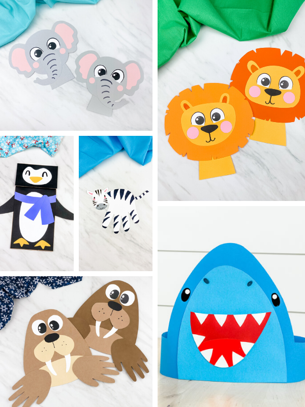 Wild Animal Crafts & Templates