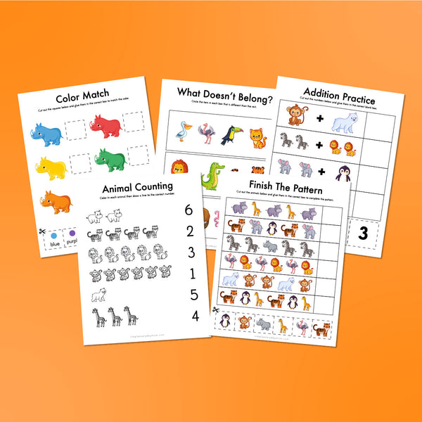 Zoo Animal Printables For Kids