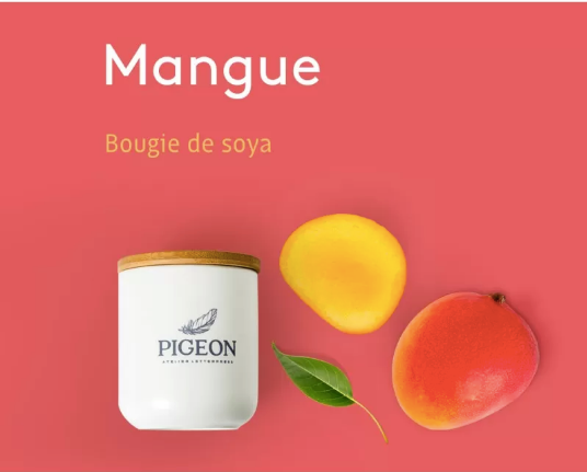 BOUGIE MANGUE /PIGEON