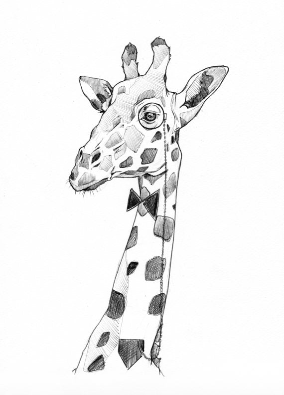 ILLUSTRATION-GIRAFE