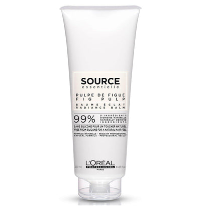 L'Oréal Professionnel Source Essentielle Colour Care Hair Balm 250ml 99% natural origin ingredients Free from silicone for a natural hair feel Embrace naturality with the Radiance Balm for coloured hair.