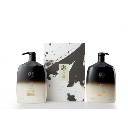 Oribe Gold Lust Litre Set