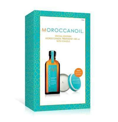 Hair Mask Treatment - Moroccanoil Treatment 100ml With Free Candle