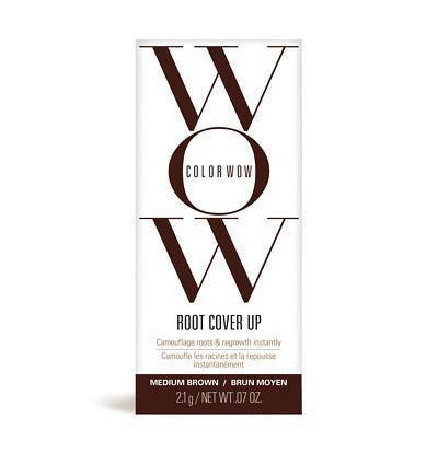 Hair Root Cover Up - Color WOW Root Cover Up - Medium Brown 2.1g