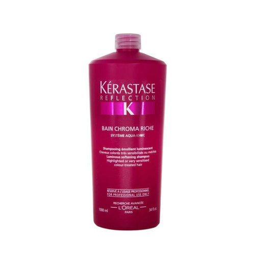 Hair Shampoo - Kerastase Reflection Bain Chroma Riche 1000ml