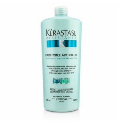 Hair Shampoo - Kerastase Resistance Bain Force Architecte 1000ml