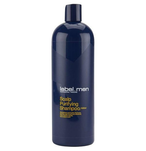 Hair Shampoo - Label.men Scalp Purifying Shampoo 1000ml