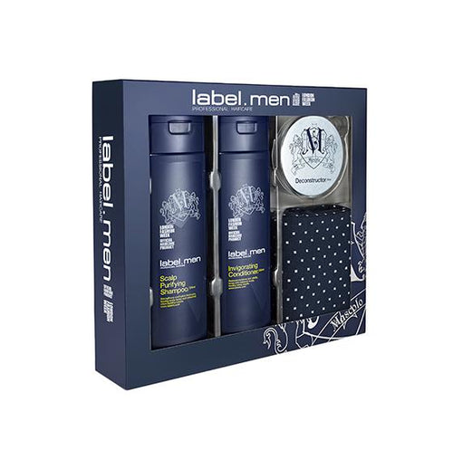 Hair Shampoo - Label.men Trio Gift Set