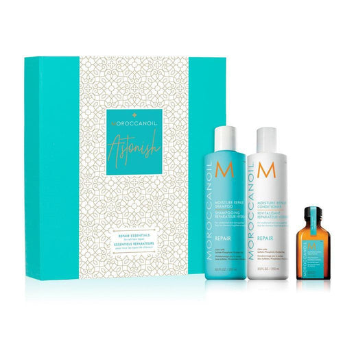 Hair Shampoo - MoroccanOil Astonish Moisture Repair Gift Set