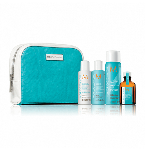 Hair Shampoo - Moroccanoil Hydrate & Style Travel Set