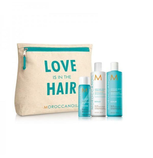 Hair Shampoo - Moroccanoil Love Is In The Hair -  Repair Gift Set