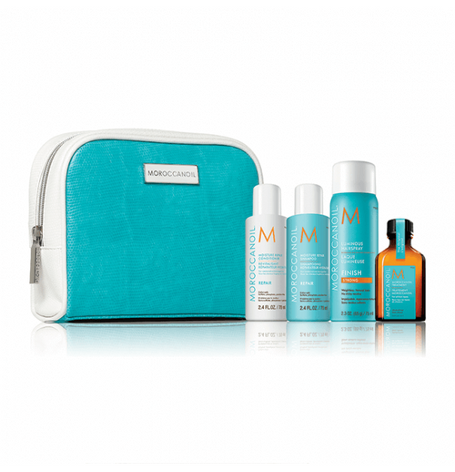 Hair Shampoo - Moroccanoil Repair & Style Travel Set