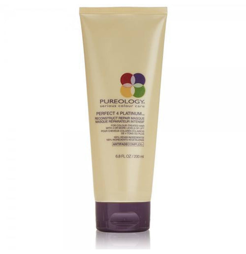Hair Treatment - Pureology Perfect 4 Platinum Reconstruct Repair Masque 200ml