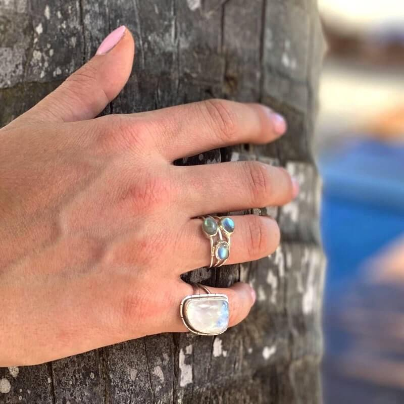 Sterling Silver Statement Bohemian Heavy Rings
