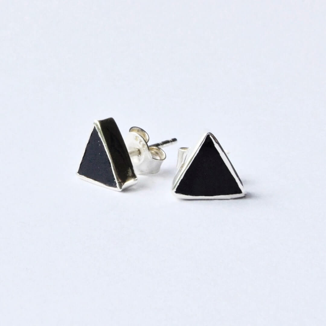 Iksha Stud Earrings-Earrings-Freya Branwyn