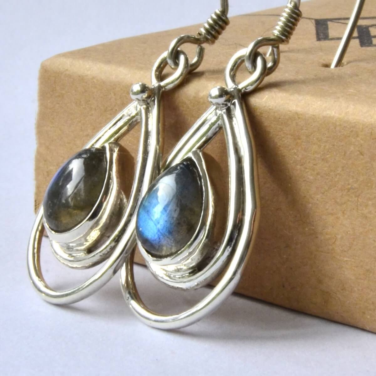 Aurora Earrings-Earrings-Freya Branwyn