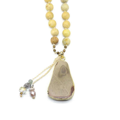 Jasmine Stone Necklace