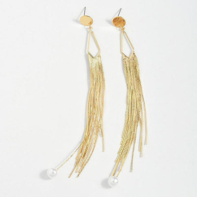 Anuket Pearl Earrings-Earrings-Freya Branwyn